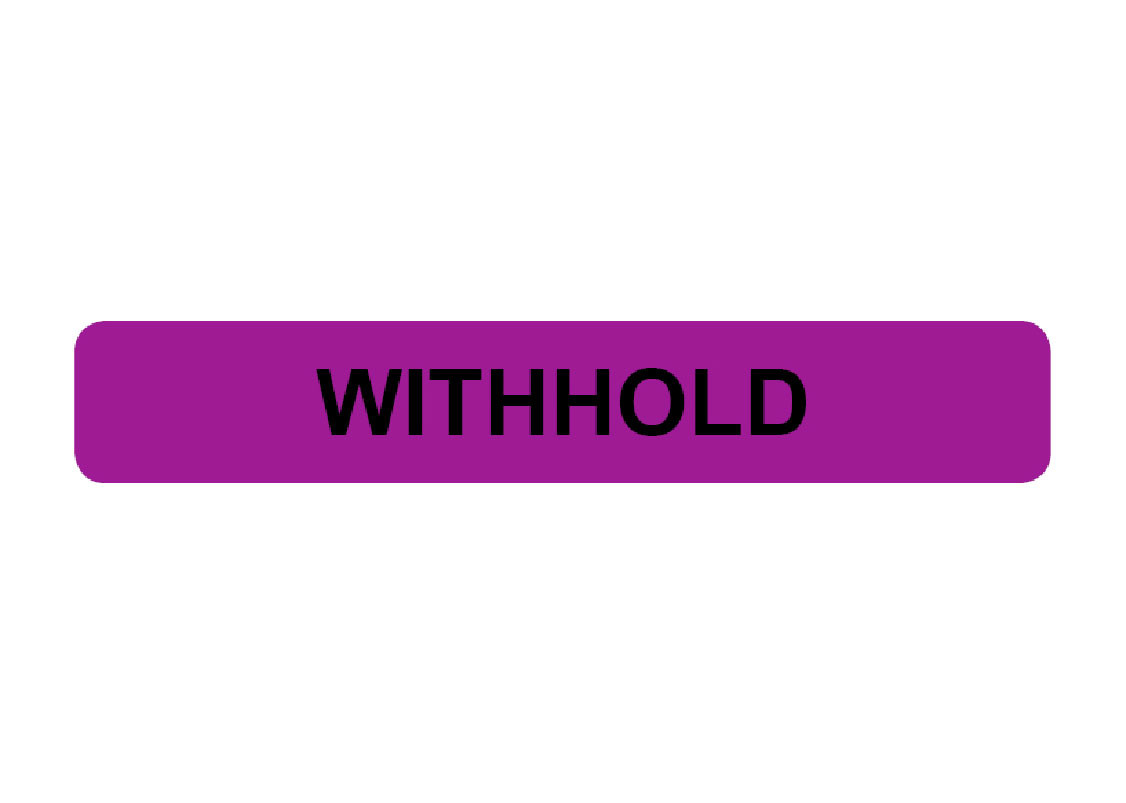 Withhold Prompt Labels Shop Compact Business Systems