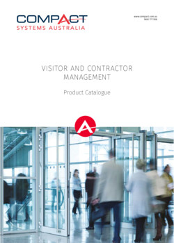 Visitor and Contractor Management