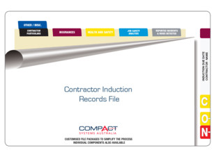 Fully Assembled Contractor Induction Records File