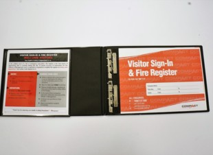 Large Visitor Book Folder