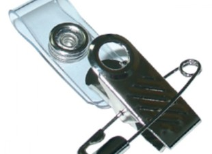 Clip, Strap & Safety Pin Attachment