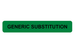 Generic Substitution Prompt Labels