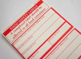 Food Safety Label Pads