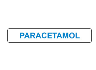 Paracetamol Prompt Label