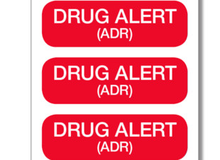 Drug Alert Labels