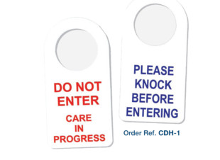 Door Hanger - Care in Progress