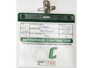 Contractor Pass Holders