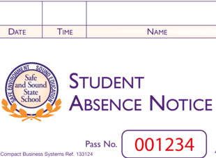 Student Absence Notice