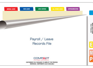 Fully Assembled Payroll Leave Records File