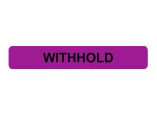 Withhold Prompt Labels