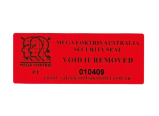Tamper Evident Seal for Envelope
