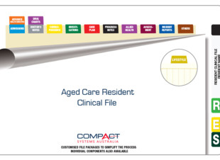 Fully Assembled Aged Care Clinical Records File