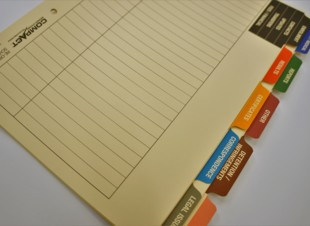 Student Record Tab Dividers