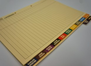 Aged Care Clinical Tab Dividers