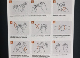 How to Hand Rub Removable A3 Poster