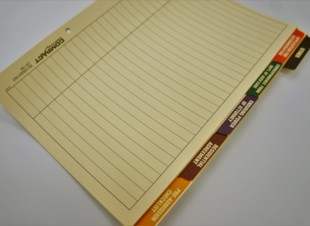 Aged Care Management Tab Dividers