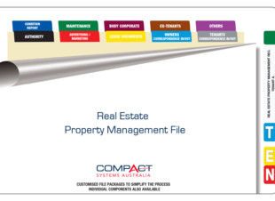 Fully Assembled Real Estate Management Records File