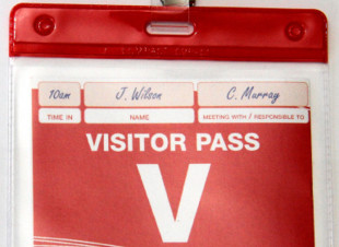 Visitor Pass Holders