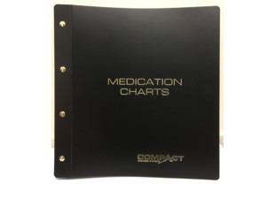 Chart Binder with 22 Chart Capacity