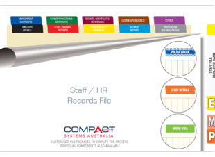 Fully Assembled Staff and HR Records file