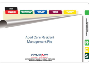 Fully Assembled Aged Care Management Records File