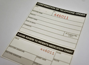 Confirmation of Telephone Order Labels